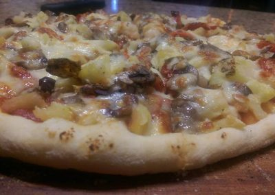 Vegetarian Supreme Pizza